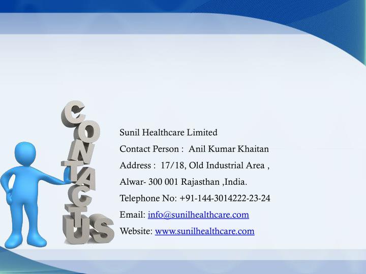 Sunil Healthcare Limited