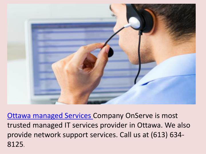 Ottawa managed Services