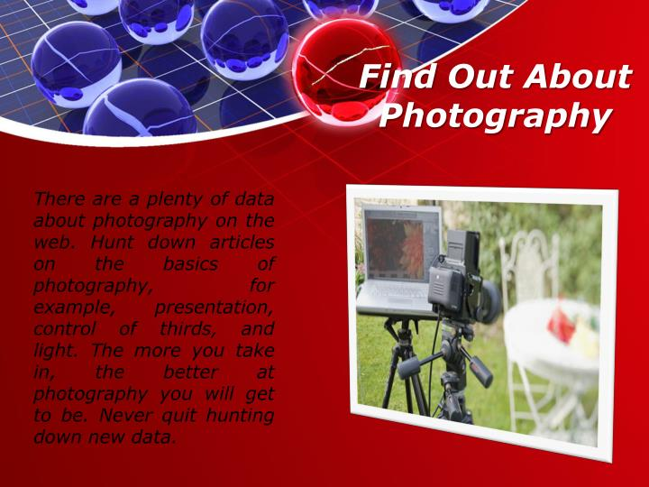 Find Out About Photography