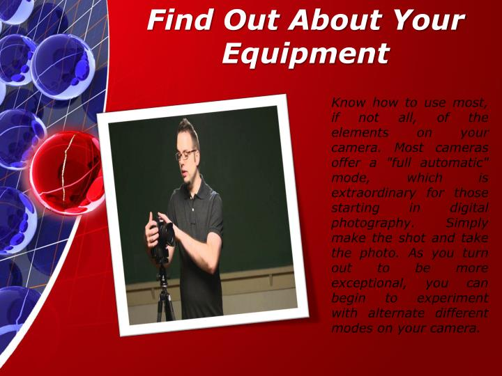 Find Out About Your Equipment