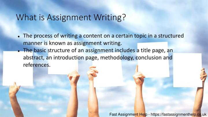 What is Assignment Writing?
