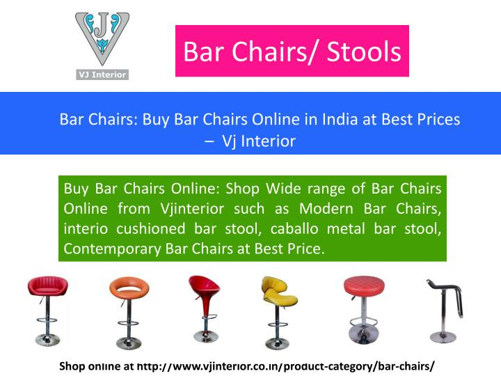 Bar Chairs/ Stools
