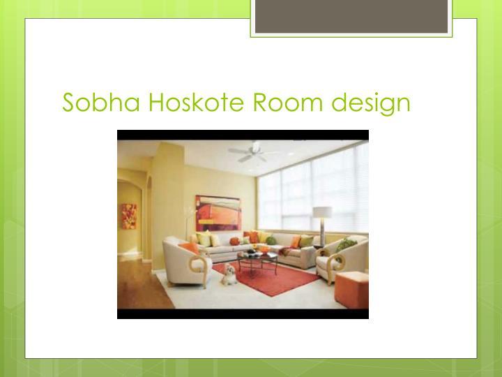 Sobha Hoskote Room design