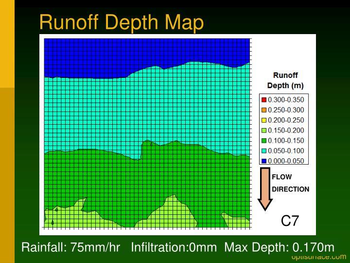 Runoff Depth Map