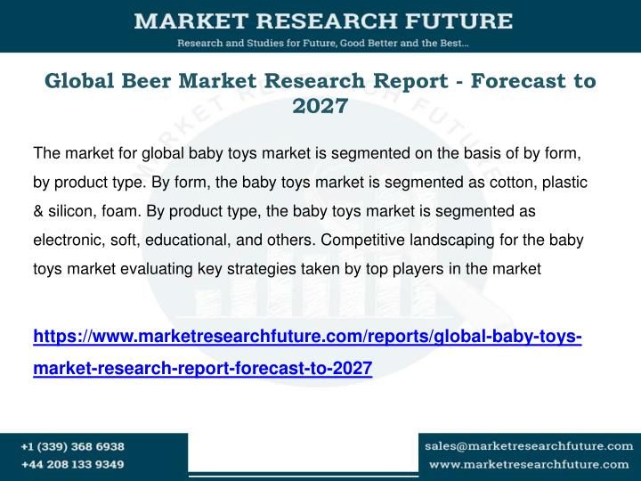 Global Beer Market Research Report - Forecast to 2027