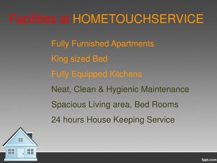 Facilities at