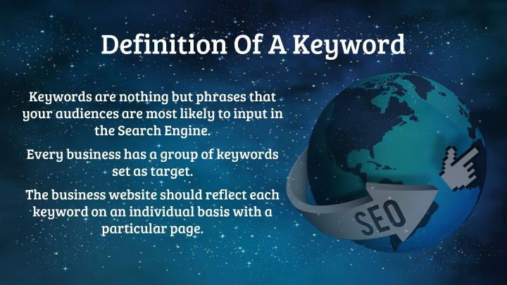 Definition Of A Keyword