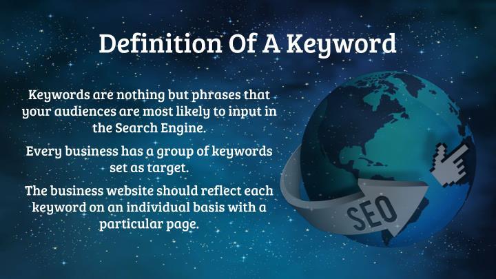 Definition Of A Keyword