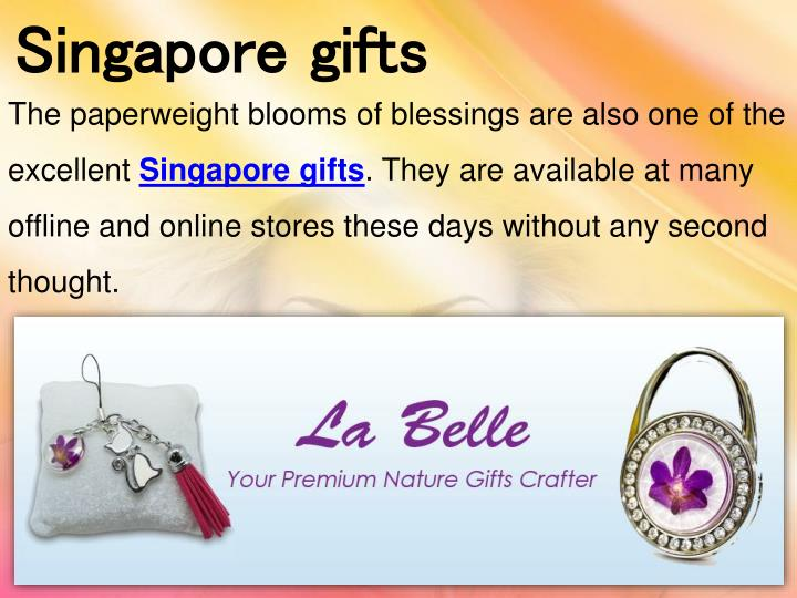 Singapore gifts