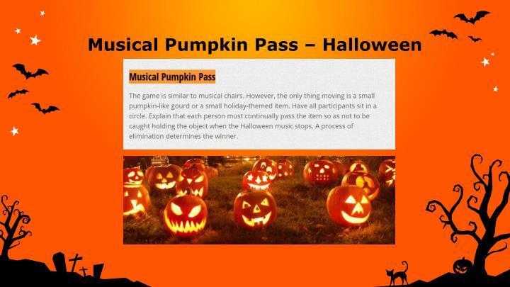 Musical Pumpkin