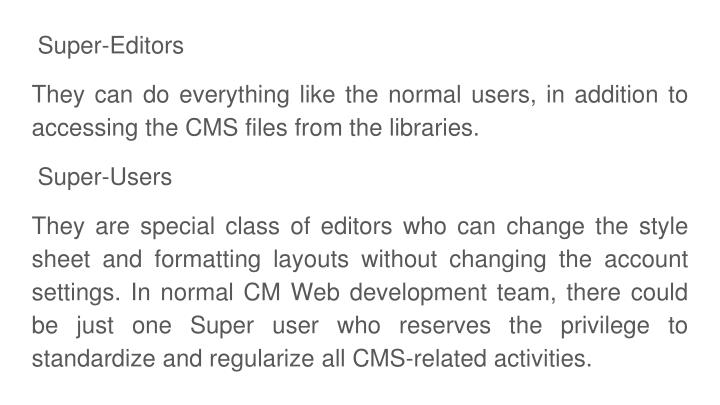 Super-Editors