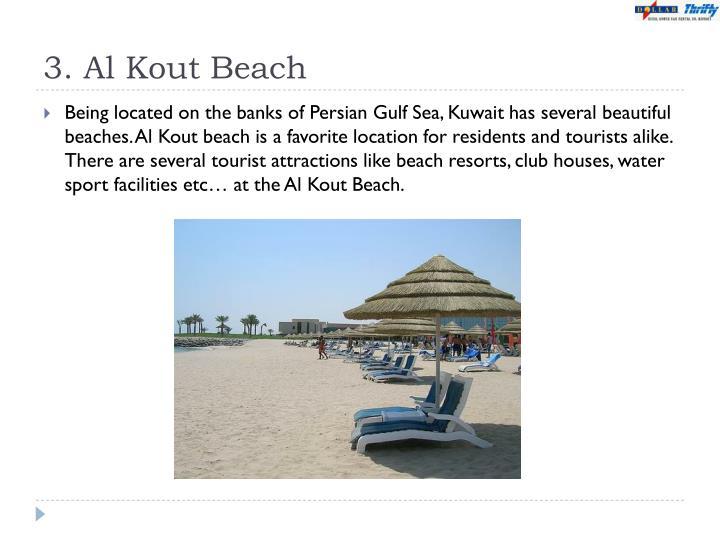 3. Al Kout Beach
