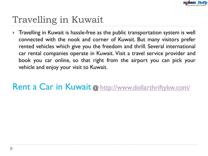 Travelling in Kuwait