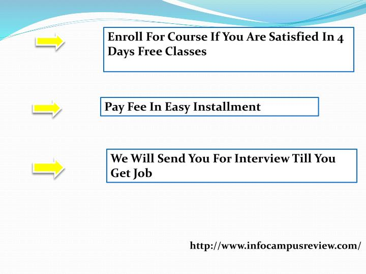 Enroll For Course If You Are Satisfied In 4