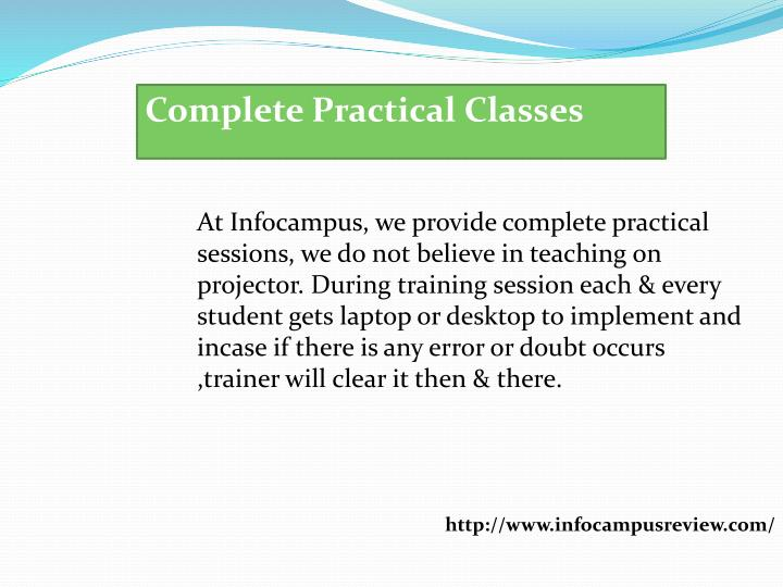 Complete Practical Classes