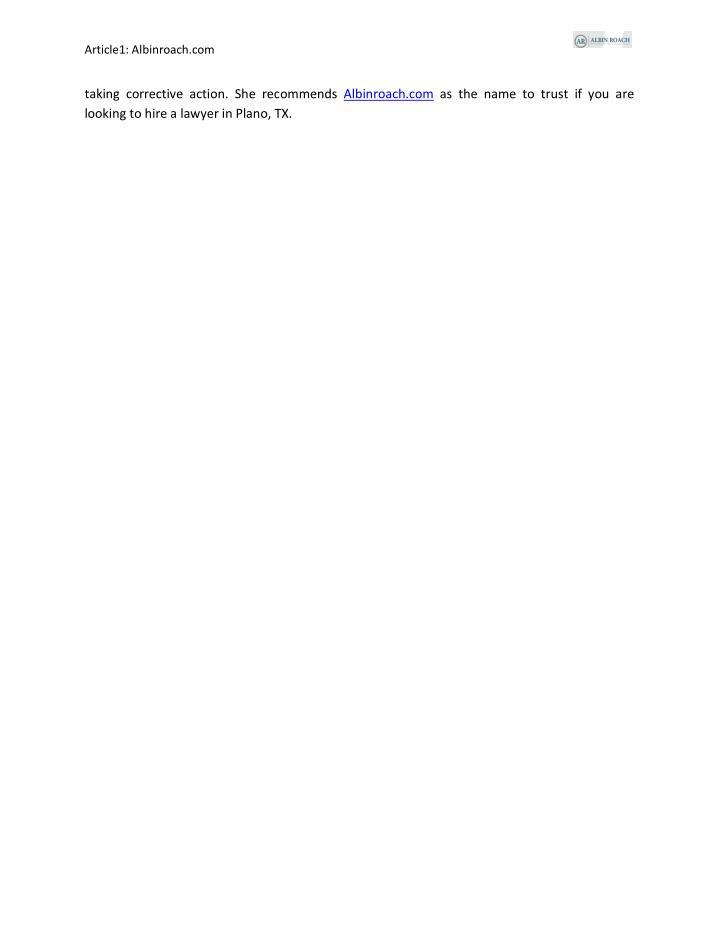 Article1: Albinroach.com