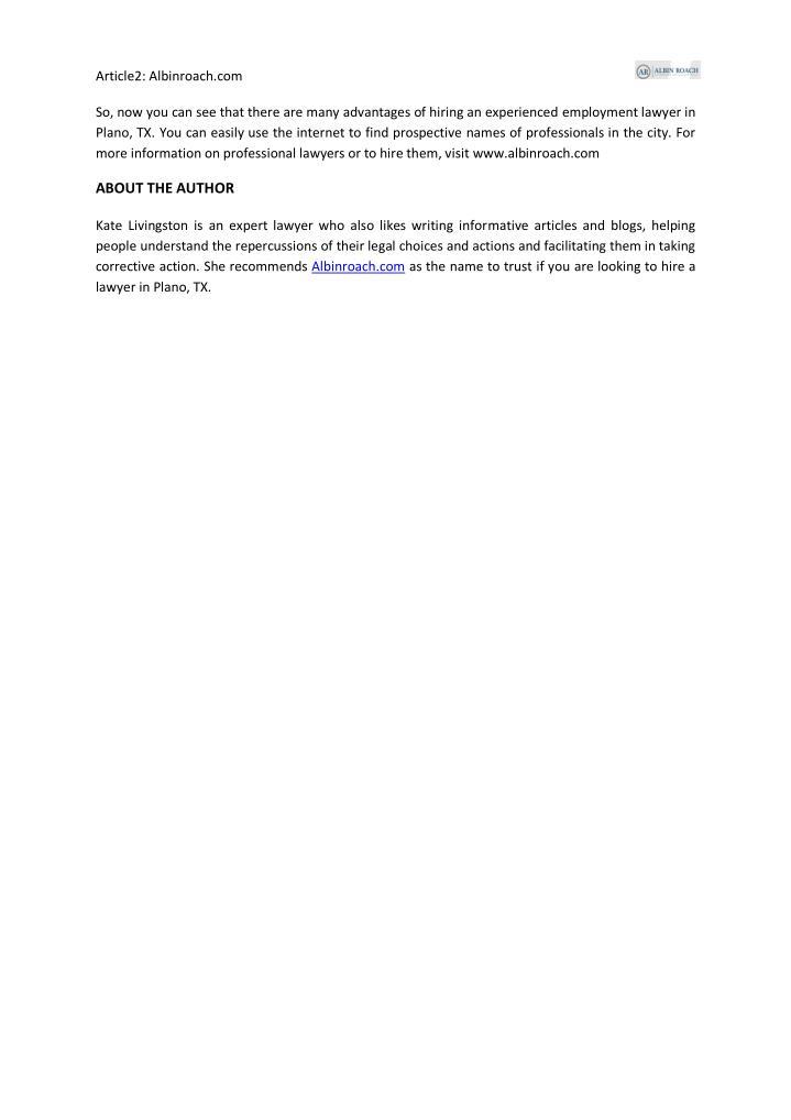 Article2: Albinroach.com