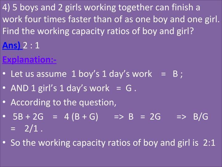 4)5boysand2girlsworkingtogethercanfinisha