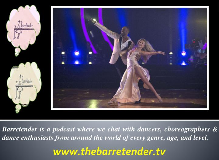 Barretender is a podcast where we chat with dancers, choreographers & dance enthusiasts from around the world of every genre, age, and level.