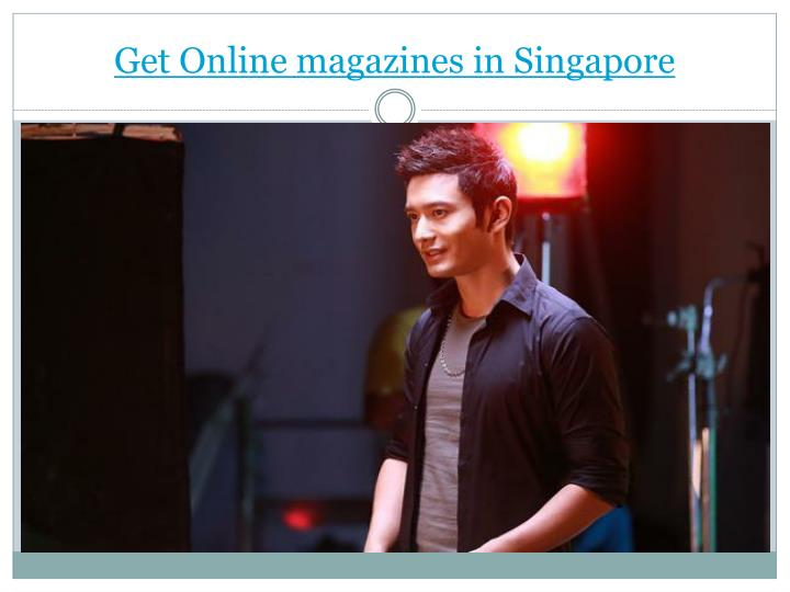 Get Online magazines in Singapore