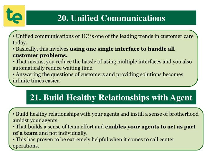 20. Unified Communications