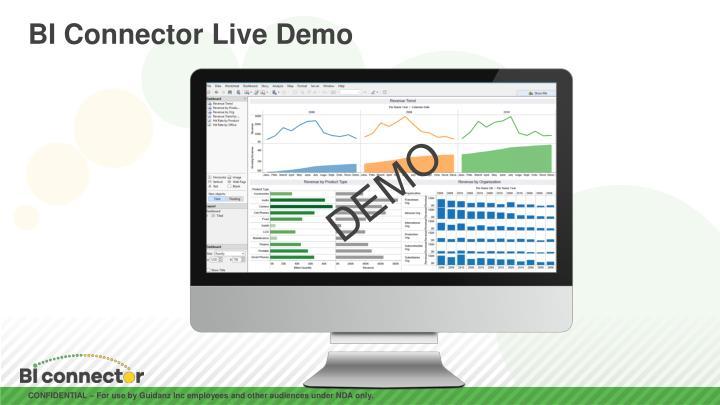 BI Connector Live Demo