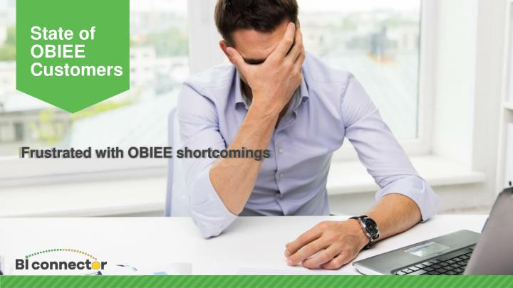 State of OBIEE Customers