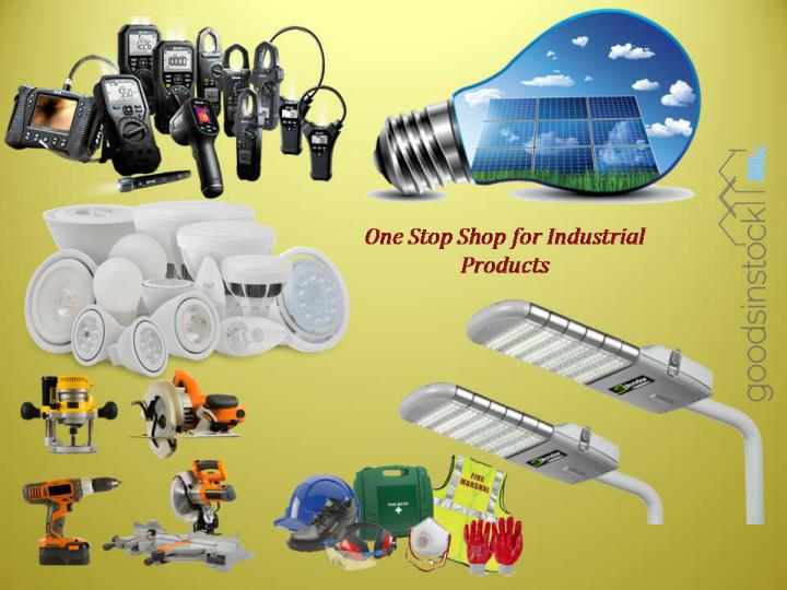 Goodsinstock online marketplace for industrial products