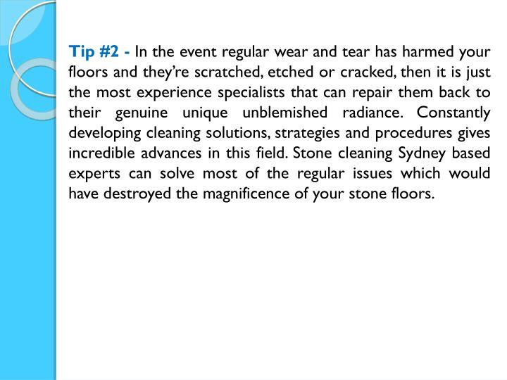 Tip #2 -