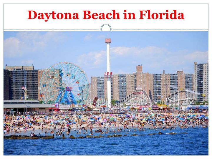 Daytona Beach in