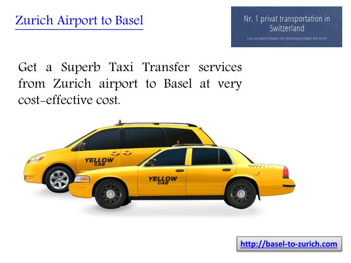 Zurich Airport to Basel