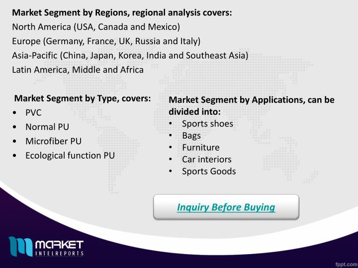 Market Segment by Regions, regional analysis covers: