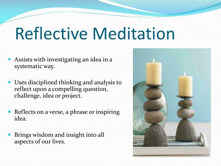Reflective Meditation