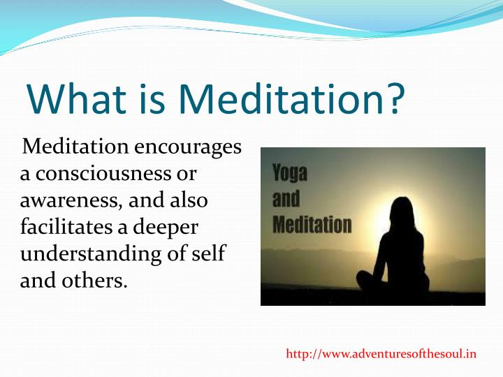 What is meditation1