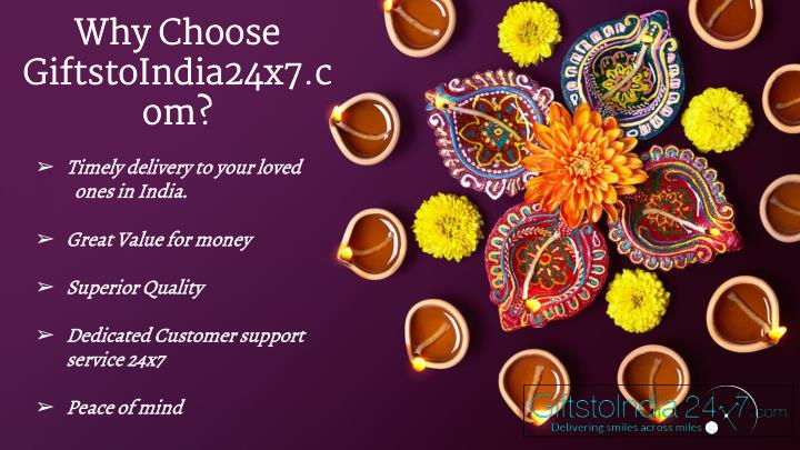 Why Choose GiftstoIndia24x7.com?