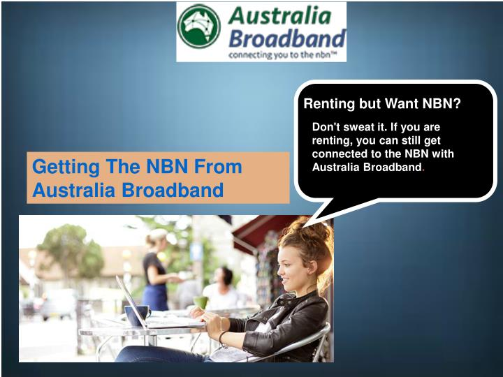 Renting but Want NBN?