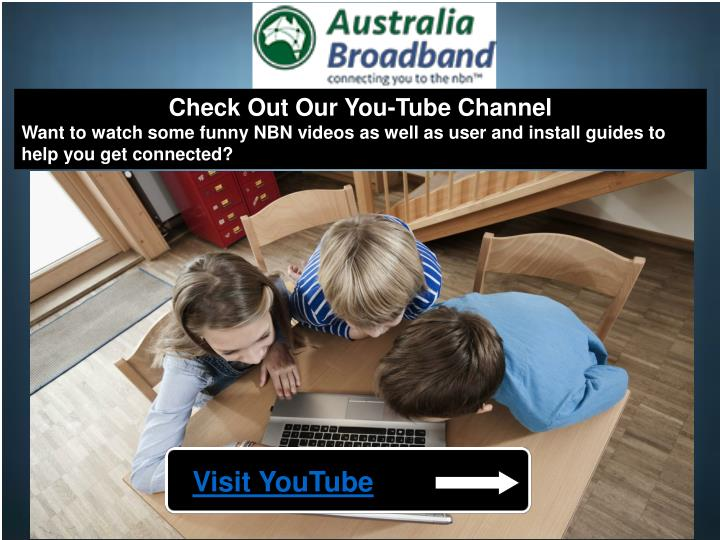 Check Out Our You-Tube Channel