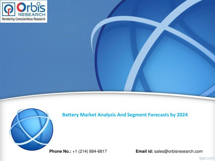 Battery Market Analysis And Segment Forecasts by 2024
