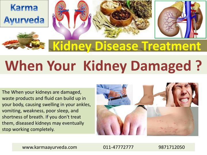 Kidney disease treatment1