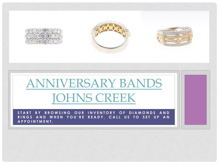 Anniversary bands johns creek