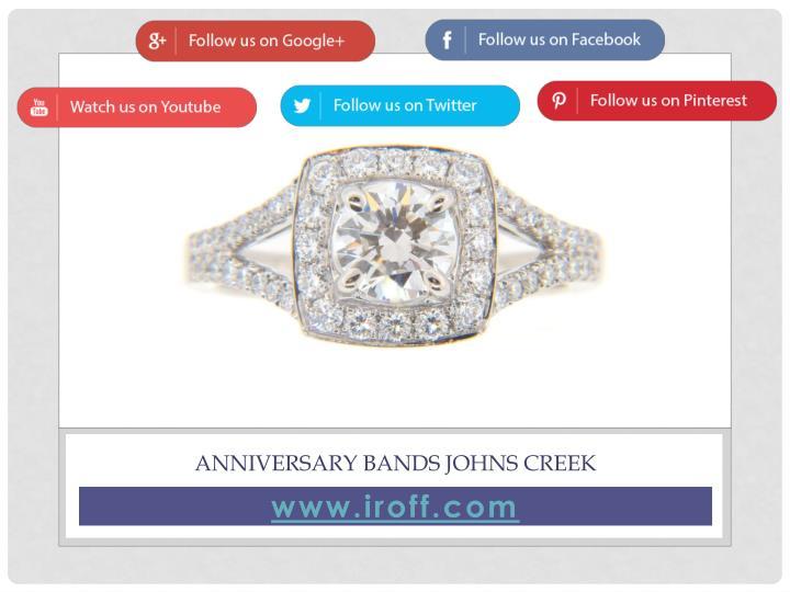 Anniversary Bands Johns Creek
