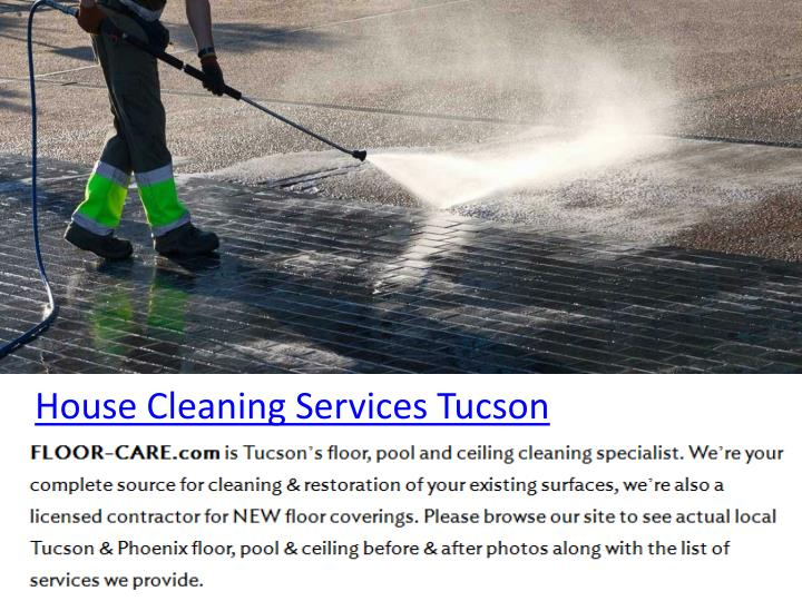 House Cleaning Services Tucson