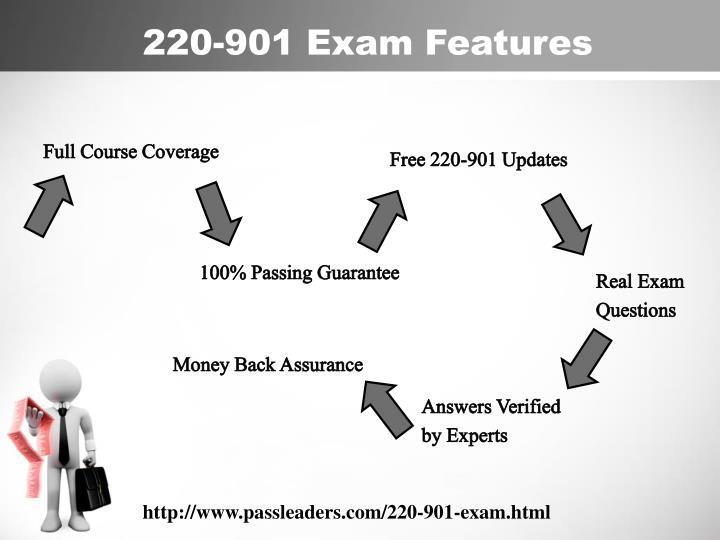 220-901 Exam Features