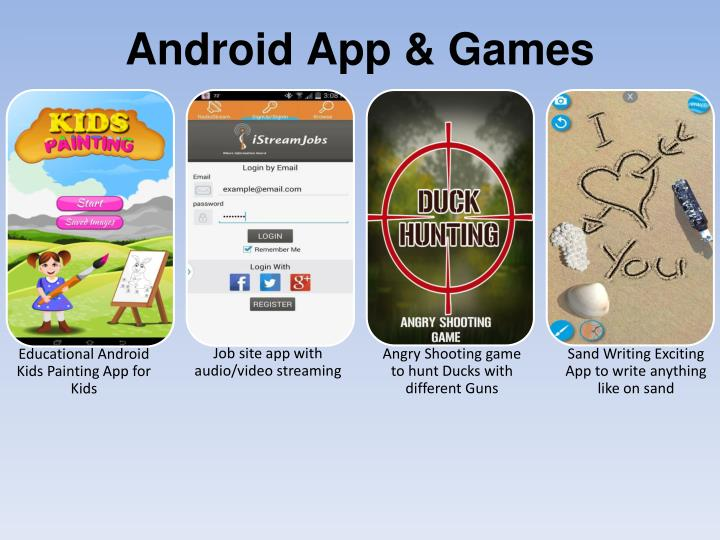 Android App & Games
