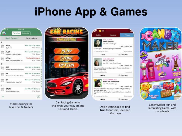 iPhone App & Games