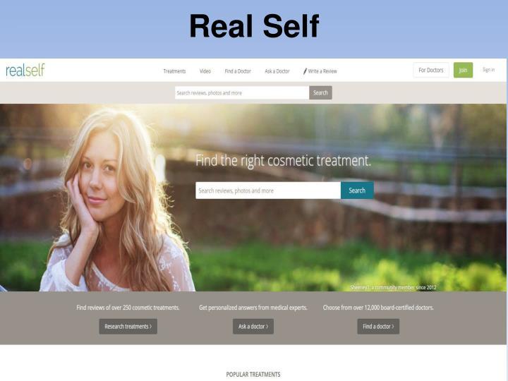 Real Self