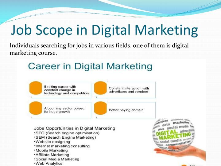 Job Scope in Digital Marketing