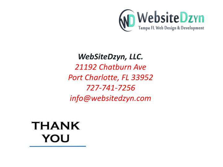 WebSiteDzyn, LLC.