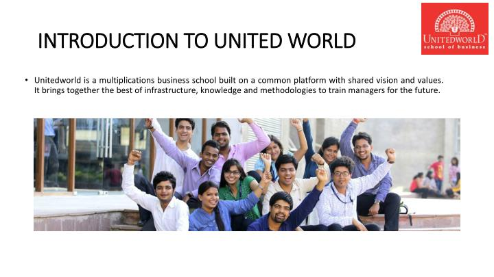 Introduction to united world