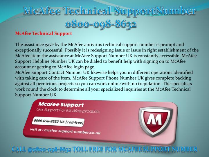 McAfee Technical